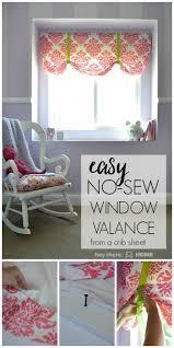 How To Make A No Sew Window Valance Mesmerizing No Sew Valance 44 No Sew Cornice Board Kits The Easiest No Sew Jpg