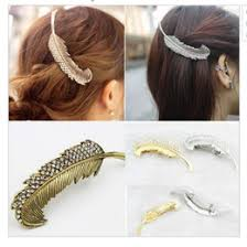 hair clasp vintage feather hair online vintage feather hair for