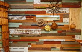 scrap wood wall reclaimed wood wall for a mountain cabin farmhouse bedroom