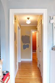 the small hallway plans for a quick makeover fretting over paint