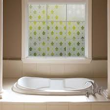 Fleur De Lis Bathroom Frosted Window Film Fleur De Lis Gila Window Film