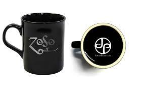 black zoso mugs pair jimmy page