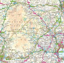 Devon England Map by Dartmoor National Park Uk Map