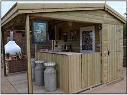 Backyard Shed Bar Backyard Patio Decor Ideas