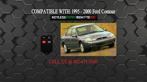 how to replace ford contour key fob battery 1995 1996 1997 1998