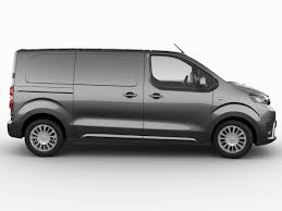 toyota proace verso 3d toyota proace van 2016 cgtrader