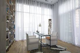 Kitchen Sheer Curtains by Sheer Kitchen Curtains Dining Room Contemporary With Sheer