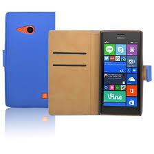 pouzdro pro nokia lumia 735 modré kvalitni folie cz