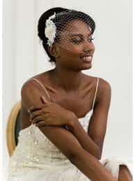 voilette mariage voilette de mariée rétro birdcage avec dentelle brodée
