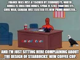 Syria Meme - new syria meme image tagged in spiderman puter desk america