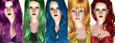 hair color to download for sims 3 hair colors sims 3 by bloodysims on deviantart