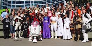 costume party fan groups invade star wars celebration anaheim