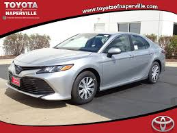 new 2018 toyota camry hybrid le 4d sedan in naperville c30746
