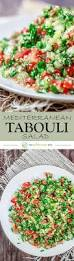 The Mediterranean Vegan Kitchen - tabouli salad recipe tabbouleh the mediterranean dish
