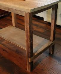 Rustic Kitchen Island Table Barn Wood Kitchen Island Reclaimed Wood Furniture