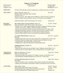 Putting Gpa On Resume Political Science Internship Resume Http Topresume Info