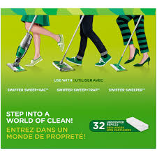 Is Swiffer Safe For Laminate Floors Swiffer Dry Sweeping Sweeper Cloths Refills 48 Ct Walmart Com