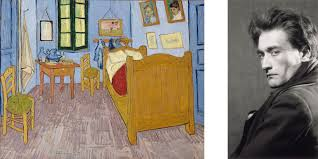 chambre vincent gogh gogh dans l oeil d artaud au musée d orsay