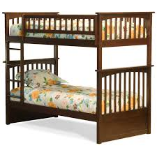 Twin Bunk Bed Designs by Atlantic Furniture Columbia Twin Over Twin Bunk Bed Hayneedle