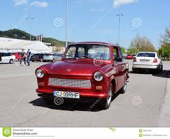 trabant classic east german car trabant editorial photography image