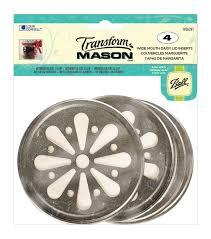 transform mason ball lid inserts 4 pkg daisy wide mouth joann
