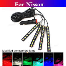 nissan altima coupe lifespan auto decorative atmosphere lamp led interior floor lights for nissan 350z 370z ad almera classic altima jpg