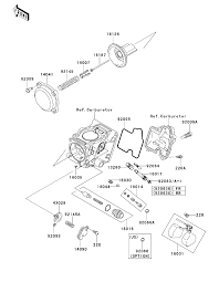 2013 kawasaki brute force 650 4x4 kvf650ddf carburetor parts parts