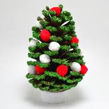simple diy pine cone ornaments a bigger
