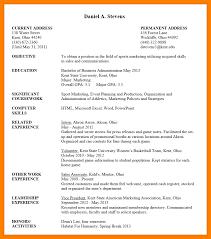 resume format undergraduate students sample reference letter for