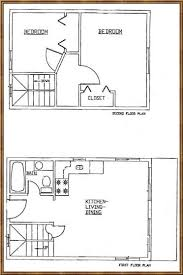 cabin blue prints 16x24 house plans google search small house plans pinterest