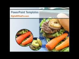 Fast Food Powerpoint Template Backgrounds Digitalofficepro 01741 Fast Food Ppt