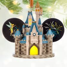 cinderella castle light up ear hat ornament walt disney world