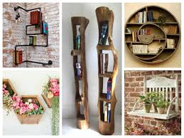 Diy Ideas For Home Decor by Creative Wall Shelves Ideas U2013 Diy Home Decor Youtube