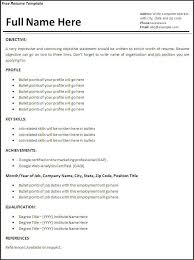 Resume For Builder Do A Resume For Free Resume Template And Professional Resume