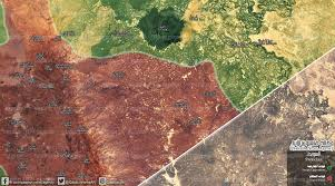 Syria War Map by Qasion News Agency Qasioun Map Latest Military Updates In