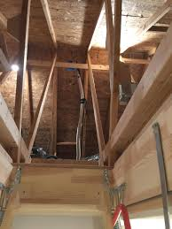 door math assessment of poorly placed wonderful insulated attic