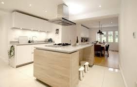matt polar white handleless with island u2013 welwyn blax kitchens ltd
