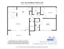 san francisco floor plans 1817 california st 1e welcomehomesf