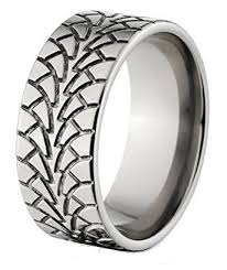 tire wedding rings mud tire wedding rings the swer ring made in usa