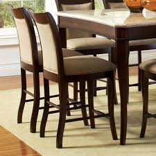 Counter Height Bar Stools With Backs Steve Silver Marseille Transitional Counter Height Chair With