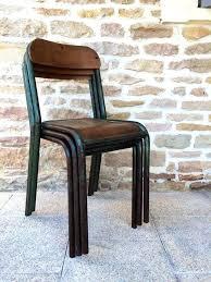 chaises m tal chaise mtal et bois best size of bureau style industriel tolle