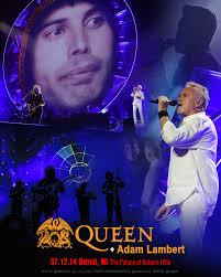 live queen adam lambert auburn hills mi 7 12 14