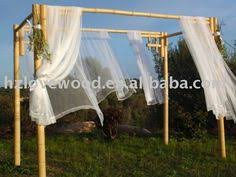 Wedding Arches Buy Natural Bamboo Wedding Arch 8 U0027 X 7 U0027 X 7 U0027 Http Www Sunsetbamboo