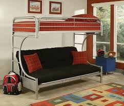 Futon Bunk Bed Wood Bunk Beds Loft Bed With Trundle Cool Kids Rooms Pictures
