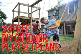 awesome and free diy playset plans a listly list