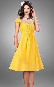 Canary Yellow Dresses For Weddings 20 Eye Catching Yellow Bridesmaid Dress Ideas Weddingomania