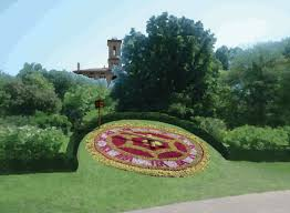 The Missouri Botanical Garden Missouri Botanical Garden Floral Clock