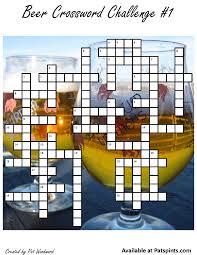 like light beers crossword craft beer crossword puzzle 1 expat s pints