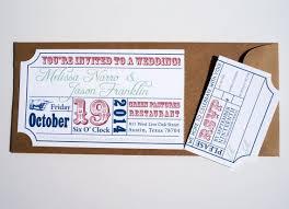 34 best invitaciones images on pinterest marriage cinema ticket