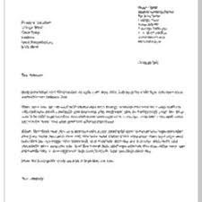 how to write a formal cover letter formal cover letter